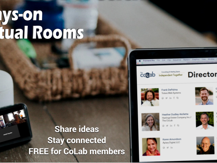 Always-On Virtual Rooms